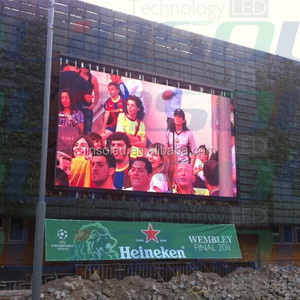 Outdoor Usage Pixel 12mm LED Display, Outdoor P12 LED Digital Sign Board, LED Video Display Board