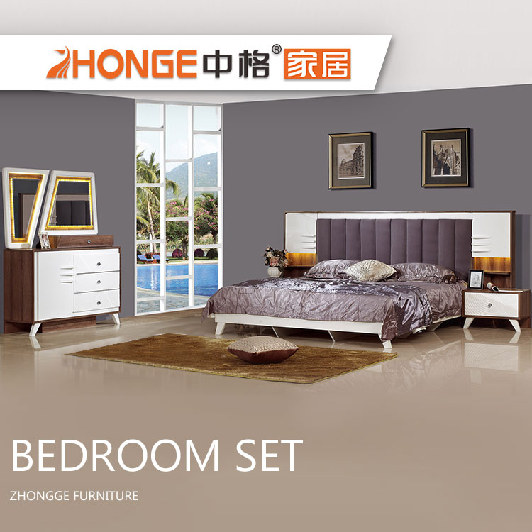 New Modern Design Queen Wooden Bedroom Furniture Classic Mdf Bedroom Sets -  Buy Queen Bedroom Set,Queen Bedroom Sets,Queen Size Bedroom Sets Product ...