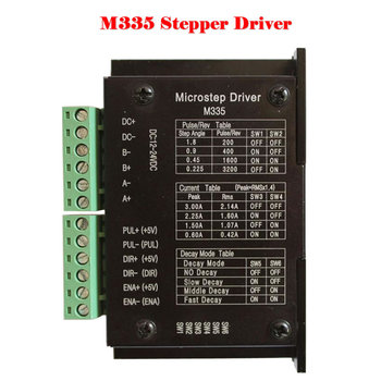 65b5a22aea0 Factory sale M335 42/57 3A 16 stepper motor controller driver kit for  engraving machine