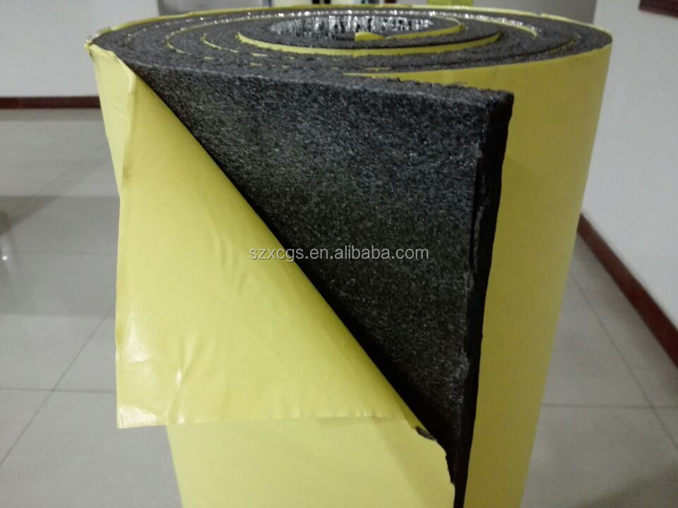 Reinforced Adhesive Aluminum Foil Faced Rubber Foam