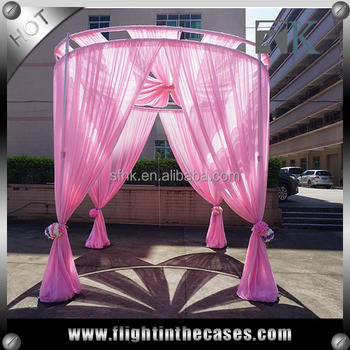 Most popular products backdrop pipe and drape for wedding ceiling draping kits