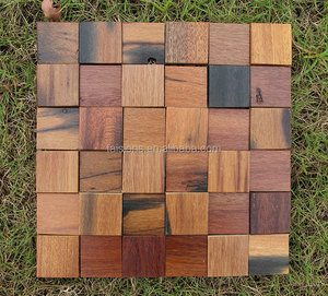 Wood Mosaic Suppliers and Teak Wood Mosaic Factory