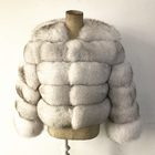 SF0417 Custom Color and Size Fur Jackets/ Winter Women's Fox Fur Coat