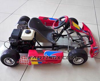 Usado 250cc Crianças Quadro Corridas De Kart