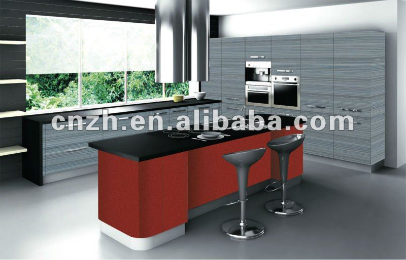 Nice and modern acrylic indian kitchen cabinets