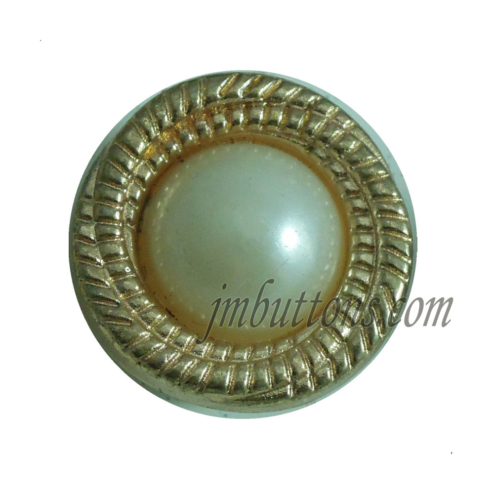 pearl customised new design metal buttons factory for women dresses
