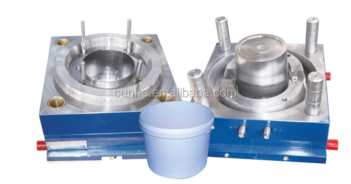 200l plastic paint buckets for factory injection molding of plastic mould / mold / molding