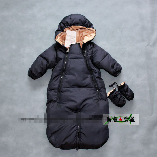 e04495de5 Wholesale The New Baby Down Jacket Pure Color Long Sleeve Sleeping ...