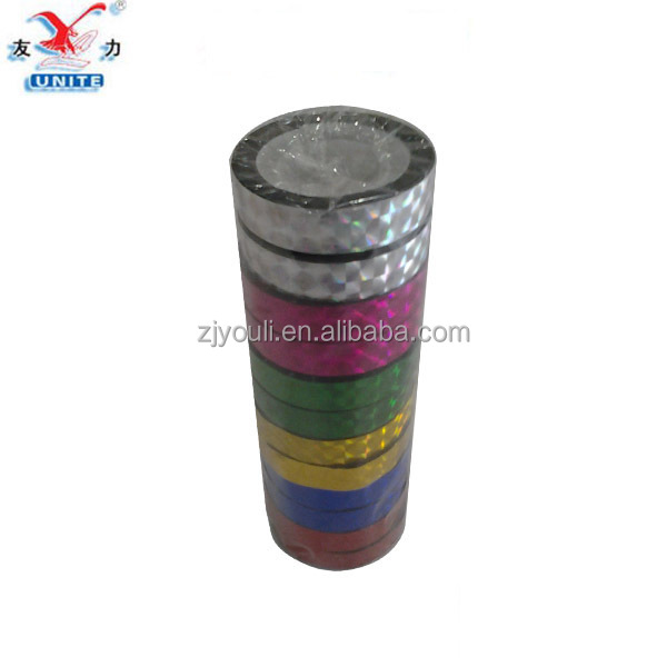 High quality opp adhesive laser tape,holographic laser tape