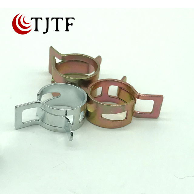 Japan type spring hose clamp with low price in china