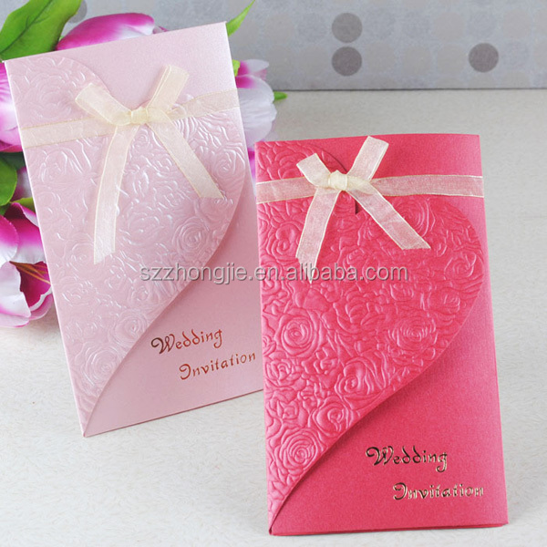 Handmade Wedding Card Design Party Invitation Cards 2017 Product On Alibaba