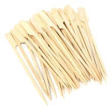 Bamboo bbq meat square bbq skewers