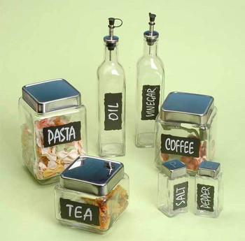 Air Storage Tea Coffee Sugar Jars Canisters