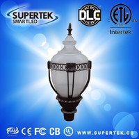 dlc etl listed 5 years warranty china factory wholesale post top lantern