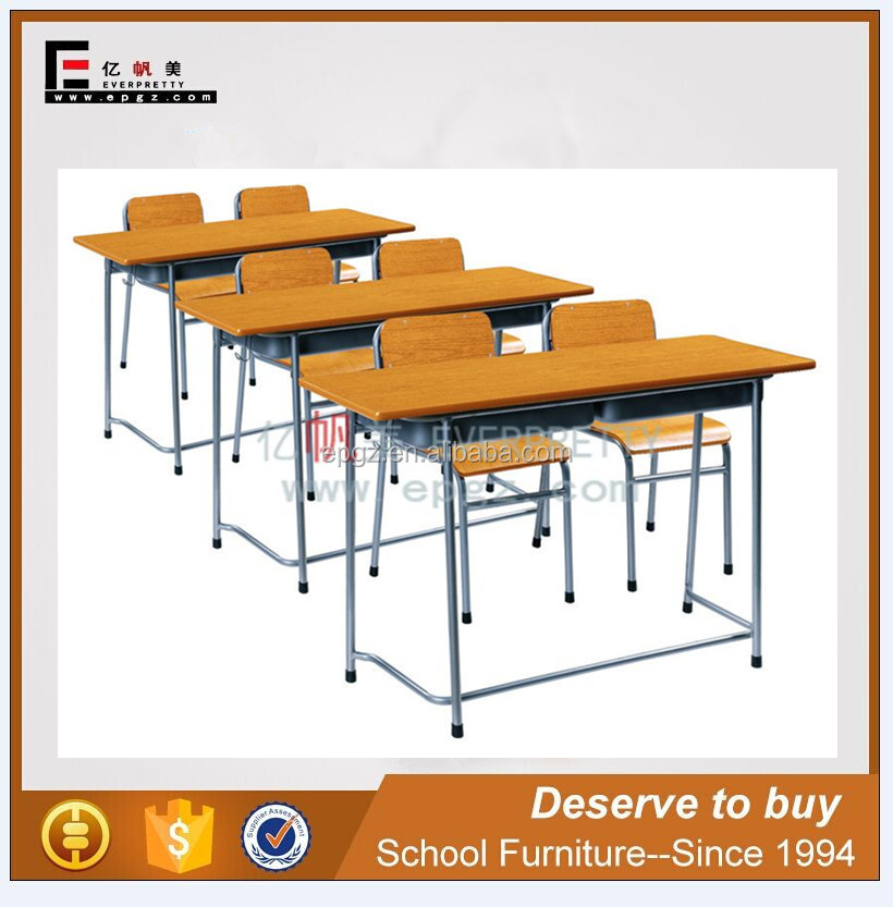 African Wits University Desk And Chair Wood Tables Plywood