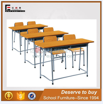 African Wits University Desk And Chair Wood Tables Plywood Steel School