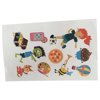 New product cartoon kiss cut sticker for children