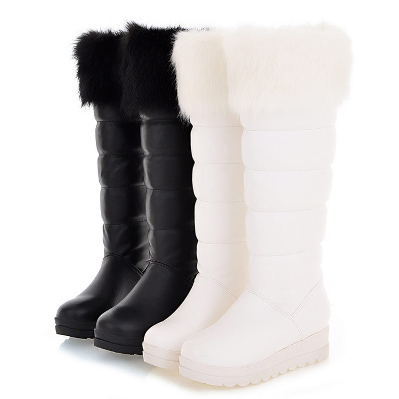 2015 winter waterproof snow boots fahion knee high boots
