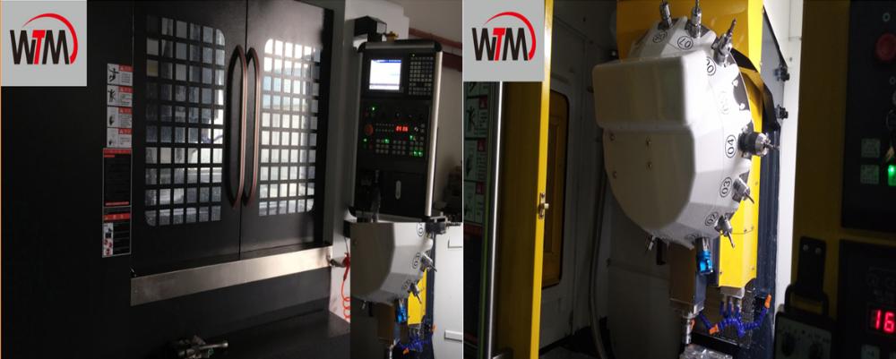 CNC gerändelt knopf drehen cnc bearbeitung aluminium teile mit laser schneiden