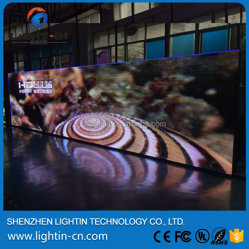Live pixel pitch 4mm rental led display , exterior hd video hang led display , ph4 outdoor led video wall for events