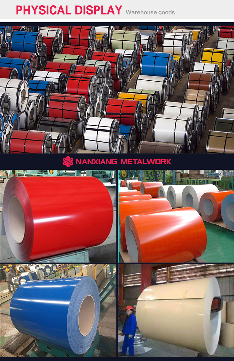 Color coated galvanized steel sheet metal coil PPGI
