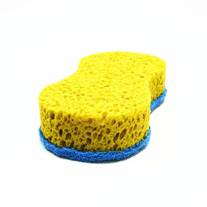 Stocked feature and pu material car wash sponge foam