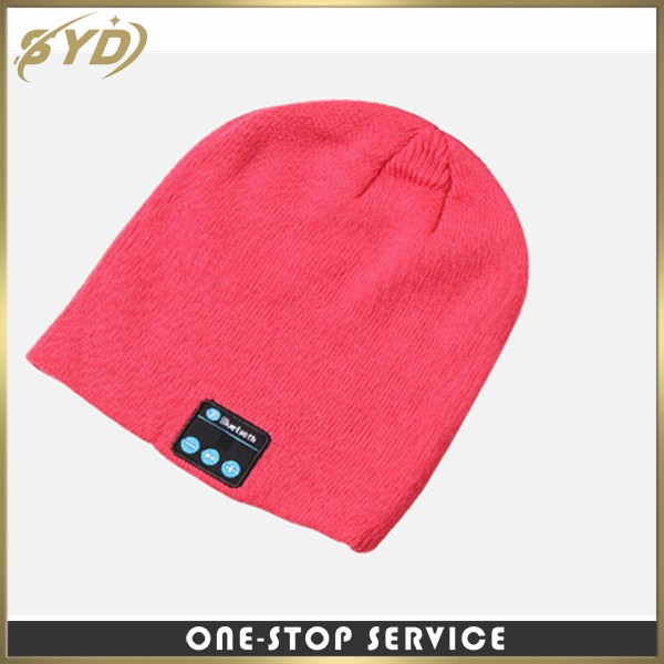 wholesale cross-border supply wireless knit cap 4.2 call music stereo leisure sports hat