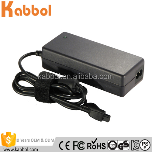 Power Supply for 20v 4.5A 90W AC DC Charger Notebook Adaptor with 3 pin tip for Dell Laptop