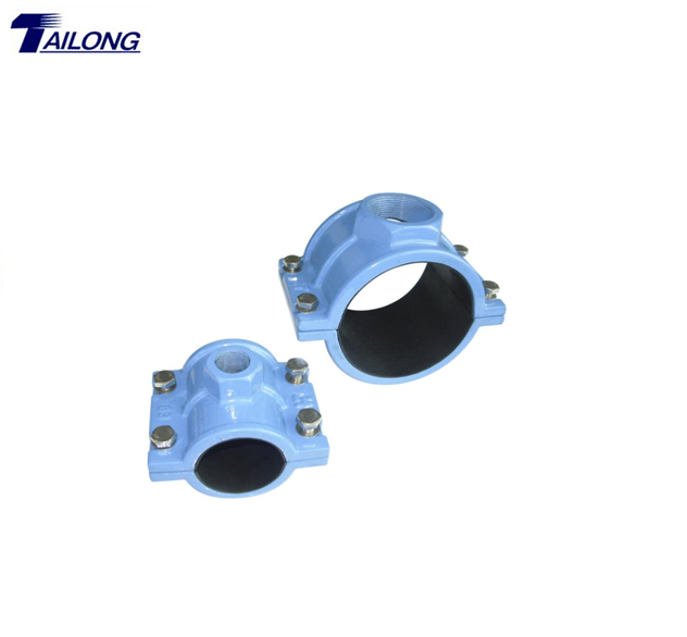 Pipe Clamps Outlet Sand Casting For Fire Hydrant Parts TLPC-755