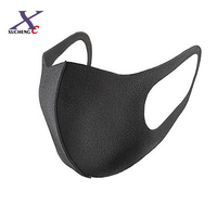 Good quality black safety anti-pollution anti-dust sponge fashion pitta face nose and mouth mask