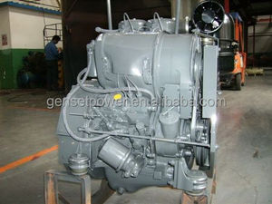 Shandong F2L912 air cooled double cylinder 24hp diesel engine