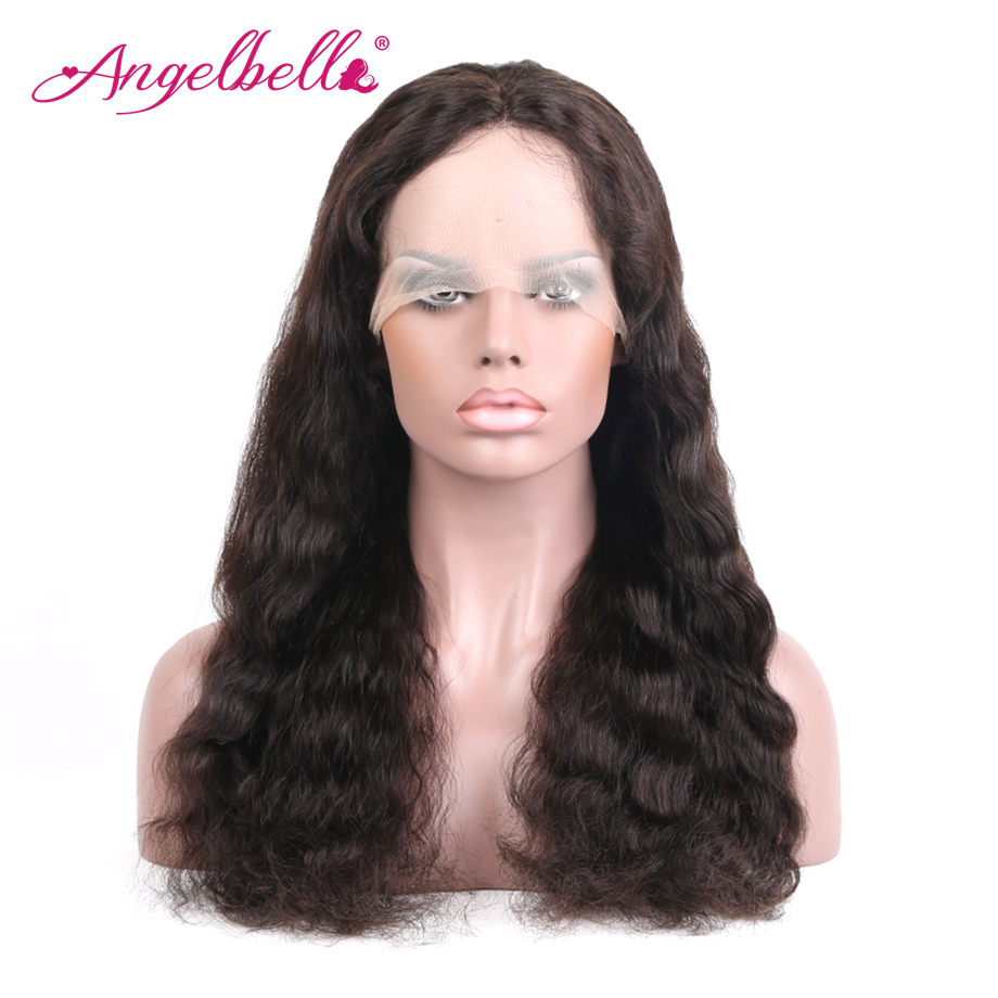 Anelbella Cheap Lace Front Wig With Baby Hair Free Designing Body Wave Pineapple Wave natural color lace front wig
