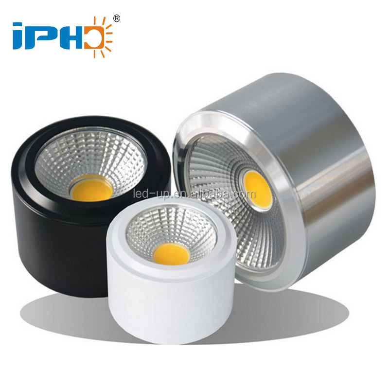 Surface Mounted COB <strong>Downlight</strong> 3W 5W 7W 10W 12W 15W 18W 110V 220V 230V Wall mounted Spotlight
