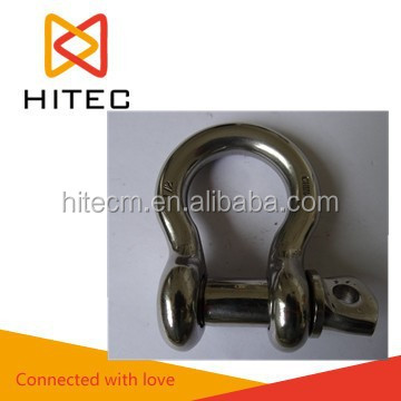marine hardware mini shackle stainless steel d shackle bow shackle