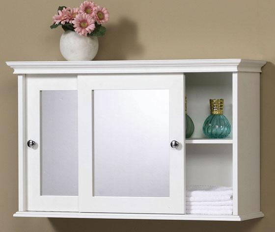 Bathroomn espejo muebles de madera ba o gabinete de pared for Gabinete de almacenamiento de bano de madera