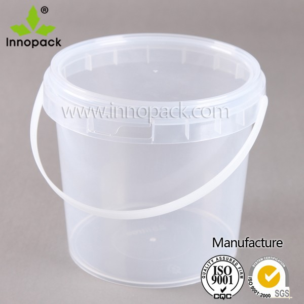 2 Gallon Oval Plastic Pail Printed Bucket For Sale Buy