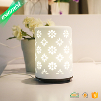Essential oil ceramic 60ml electric ultrasonic aroma therapy diffuser