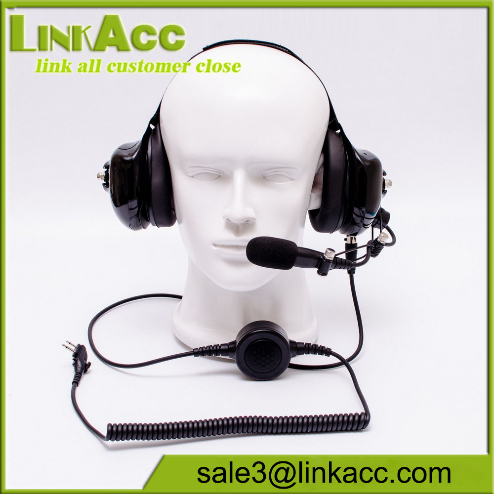 Noise Cancelling Headphone with MIC for Hytera HYT TC-700 TC-610 TC-585 TC-500S