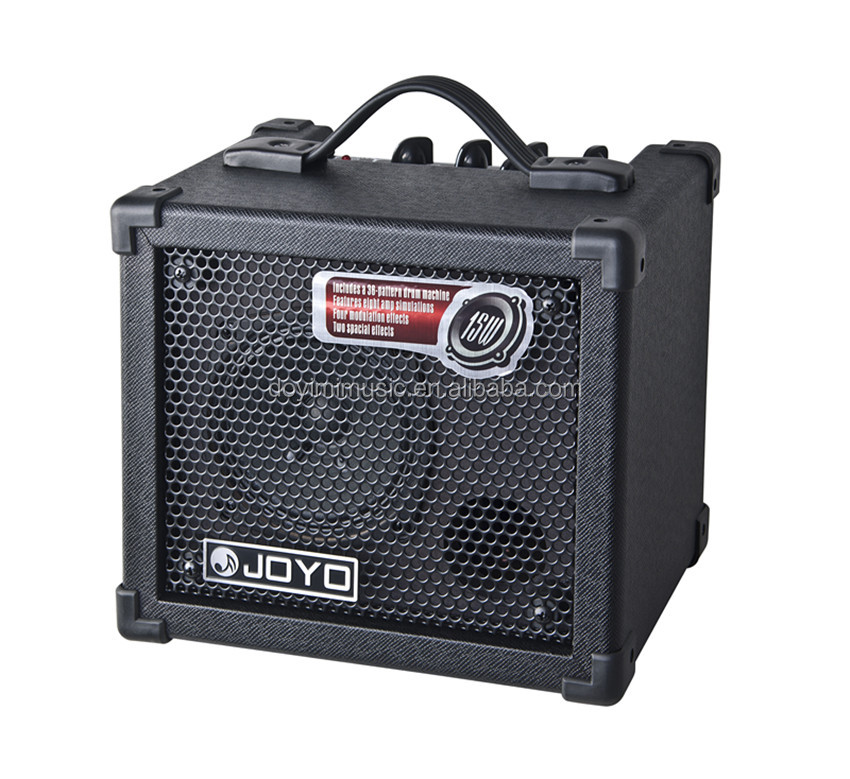 JOYO DC-15 15W Digital Guitar Amplifier with Delay Reverb other modulation Effect, 36 Pattern Drum JOYO Amplifiers