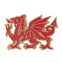 United Kingdom Wales Great Britain Metal Souvenir Magnet fridge Wales Travelling Gifts