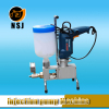 Item-800 double concrete epoxy grouting injection pump for crack repair