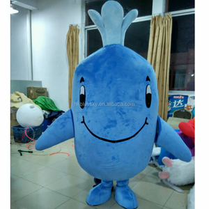 2016 Custom made whale mascot costume,custom whale mascot for sale