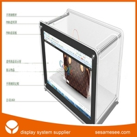 transparent touch screen lcd