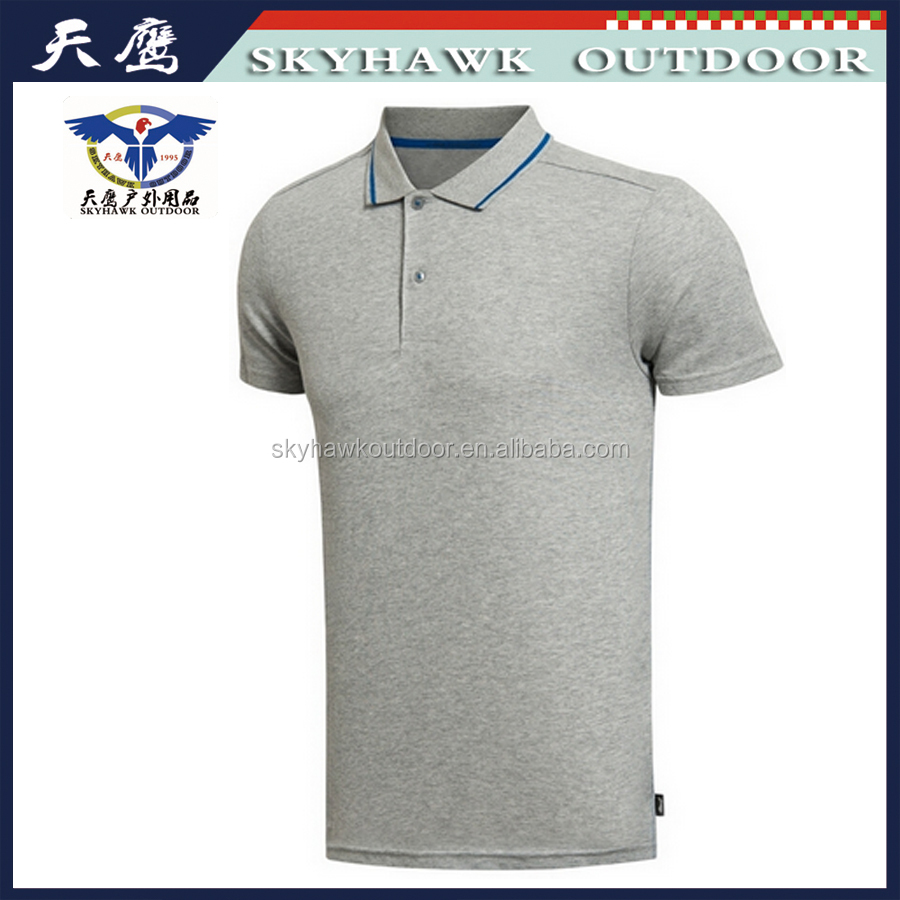 China Apparel Custom Cotton Polo T-Shirt For Men