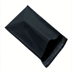 Poly shipping envelopes plastic postage bag custom black poly mailer bag