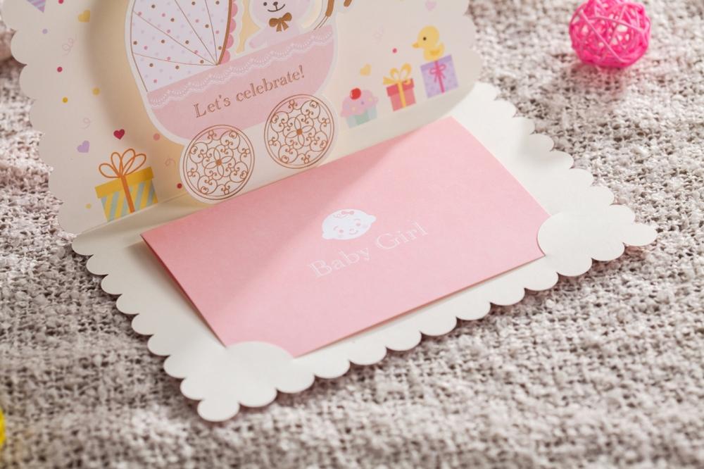 Light Pink Baby Girl Happy Birthday Greeting Card Cw5301 ...
