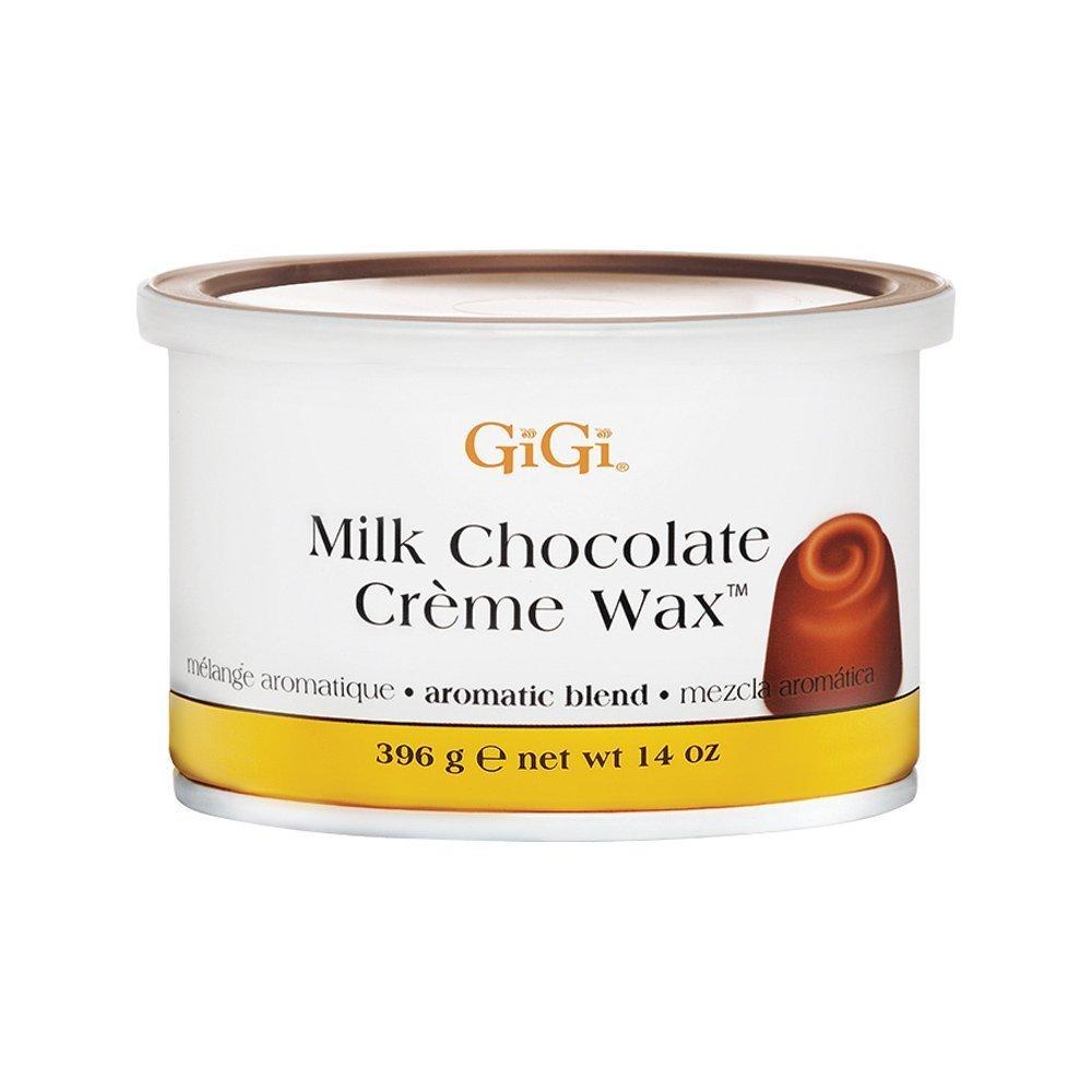 GiGi Milk Chocolate Creme Wax - Milk Chocolate 14 oz. (Pack of 3)