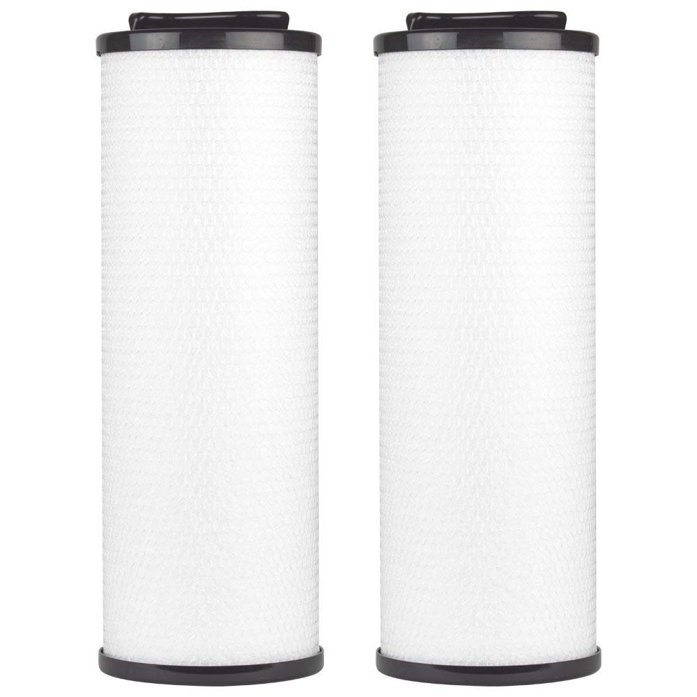 "Clear Choice CCP444 Pool Spa Replacement Cartridge Filter for Arctic Spa 006541, Silver Sentinel Filter Media, 5"" Dia x 13-7/8"" Long, [2-Pack]"