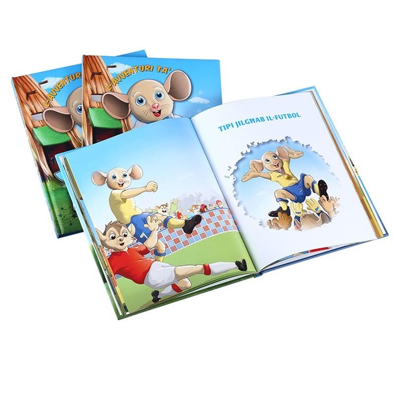 Top Quality Children English Story Books Full Color Custom Hardcover