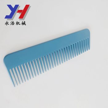 customized made precision color painting china supplier metal lice combs